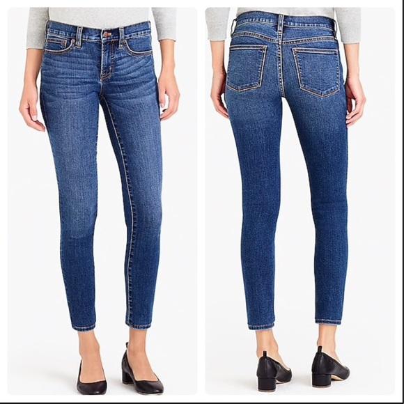 J.Crew Mercantile Womens Midrise Skinny Jean Jeans